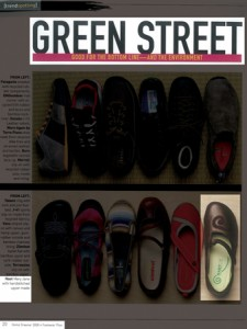 Green Street Naot Shoes Article