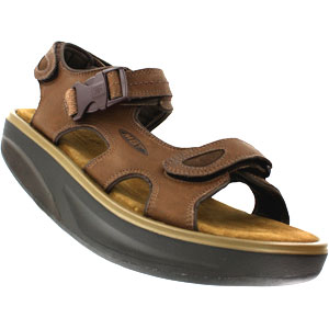 MBT Kisumu 2 Bison Leather Sandals