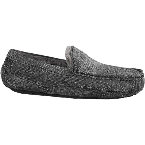 Mens UGG Ascot Washed Denim in Black