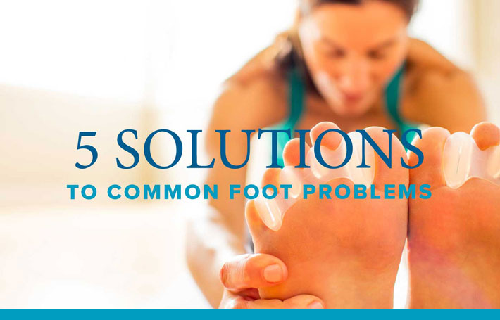 5 Common Foot Solutions