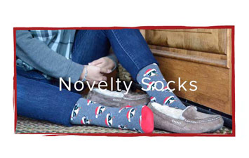Novelty Sock Stocking Stuffer | Footwear etc.