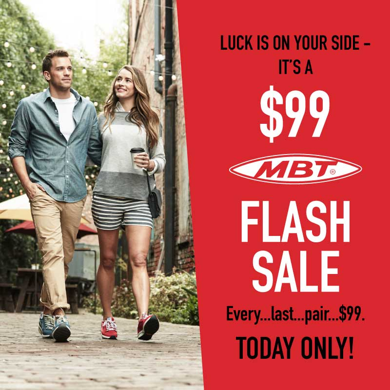 MBT Flash Sale | Footwear etc.