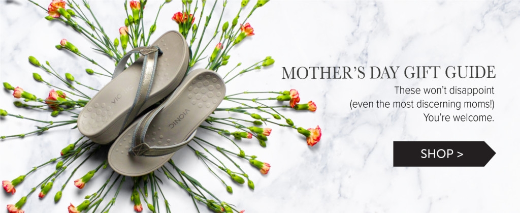 Mother's Day Gift Guide Footwear etc.
